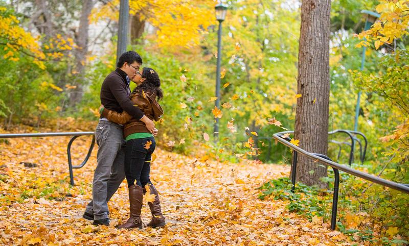 Roman Hidalgo Photography Zhe Amp Melody Engagement Shoot London Ontario Western University