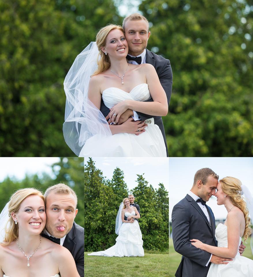 Roman Hidalgo Photography Cormack Wedding Blue Water Ontario